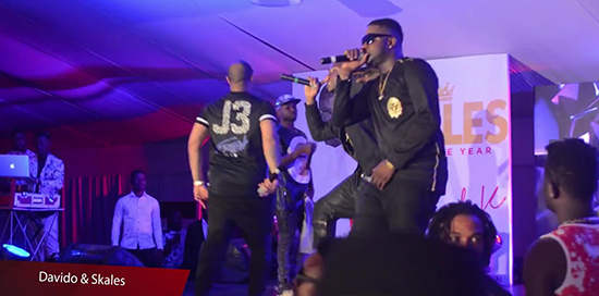 Perform At Skales Man Of The Year Album Launch - Boomplay