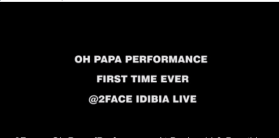 Oh Papa (Performance At Buckwyld & Breathless Concert) - Boomplay
