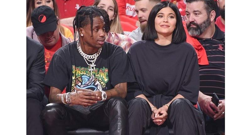 New Parents Kylie Jenner And Travis Scott Spotted At NBA Game Night - Boomplay
