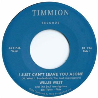 I Just Can't Leave You Alone (feat. Jimi Tenor) - Boomplay