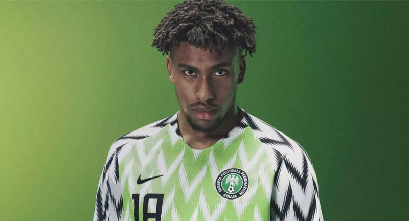 Nigeria's World Cup Kit Rated World Best - Boomplay