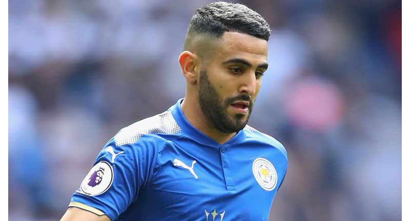 Man City Signs Algerian Winger Riyad Mahrez From Leicester City - Boomplay