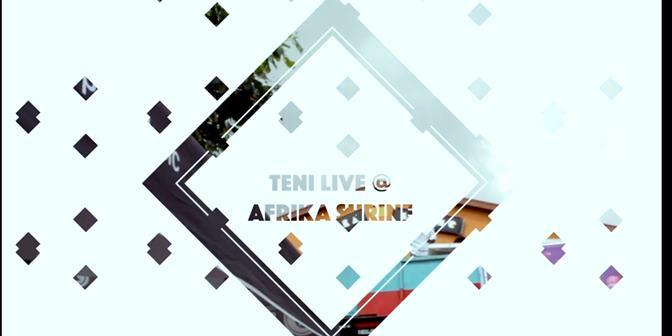 Teni Live at Arika Shrine - Boomplay