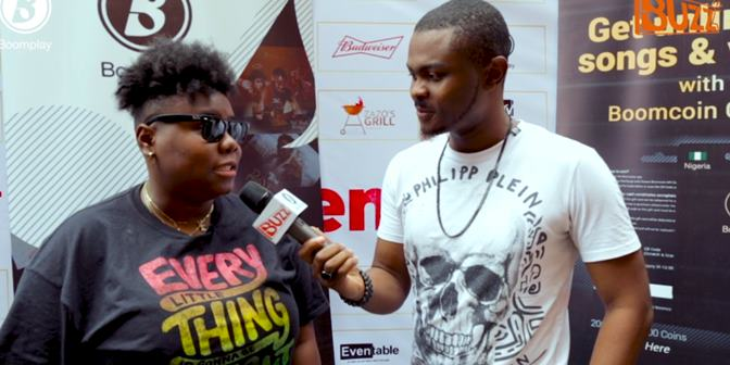 Teni's Short Interview with Buzz - Boomplay