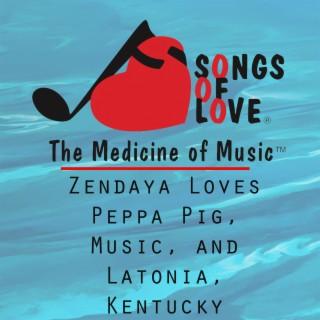 Zendaya Loves Peppa Pig, Music, and Latonia, Kentucky