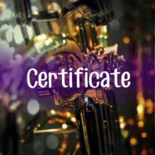 Certificate - Boomplay