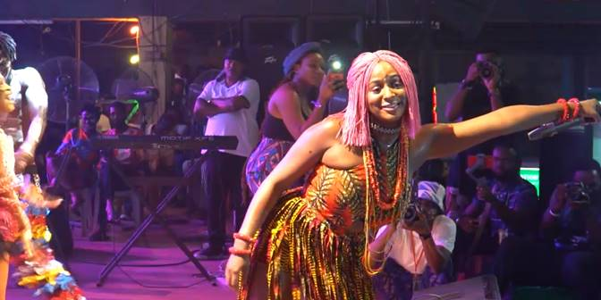 DJ Cuppy's performance at Felabration 2019 - Boomplay