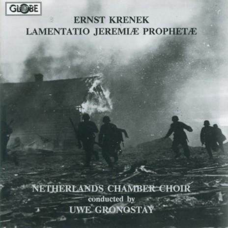 Lamentatio Jeremiae Prophetae for Mixed Chorus a Capella, Op. 93: I. In parasceve, Lectio Prima