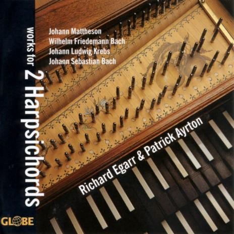Concerto in C Major, BWV 1061a for Two Harpsichords: II. Adagio Ovvero Largo ft. Patrick Ayrton
