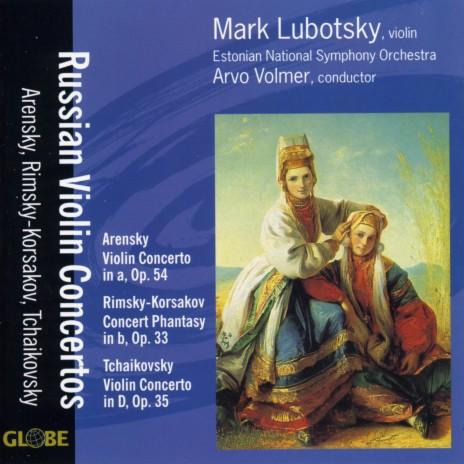 Concerto for Violin and Orchestra in D Major, Op. 35: III. Finale - Allegro vivacissimo