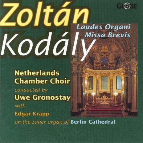 Missa Brevis, for Chorus and Organ: V. Sanctus ft. Edgar Krapp