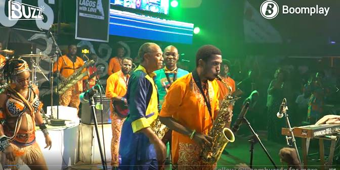 Buzz On-site: Made Kuti's Legendary Performance at Felabration - Boomplay