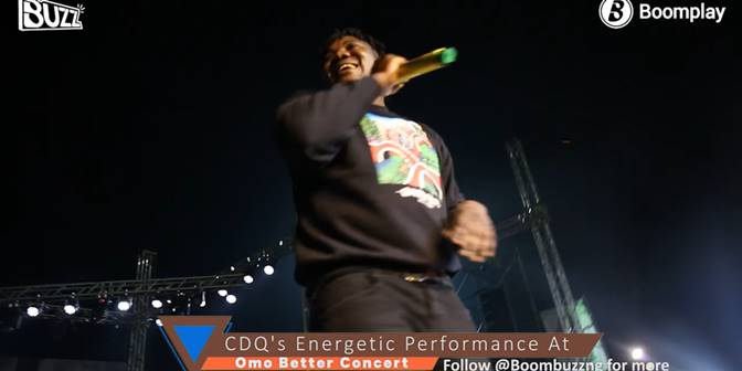 CDQ's Energetic Performance At Omo Better Concert - Boomplay