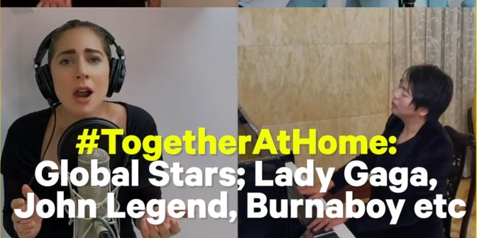 #WhatTheBuzz: Simi Surprises Fans in New Video, Lady Gaga, Burnaboy, Shine AtTogetherAtHome Concert - Boomplay