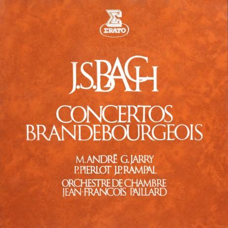 Bach, JS: Brandenburg Concerto No. 4 in G Major, BWV 1049: II. Andante ft. Alain Marion & Gérard Jarry