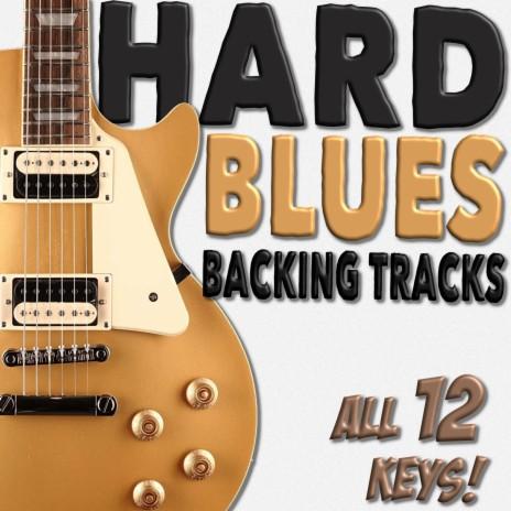 Hard Blues Rock Guitar Backing Track   Key of B 110bpm