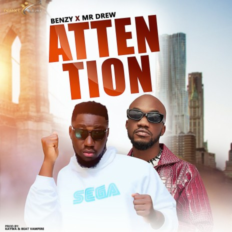 Attention ft. Mr. Drew-Boomplay Music