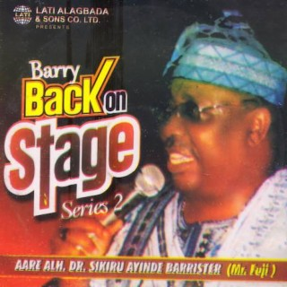 Barry Back On Stage (Series 2) - Boomplay