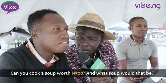 #StreetVibe Episode 6 is live | Can you cook a pot of soup with N500? What soup would that be? - Boomplay