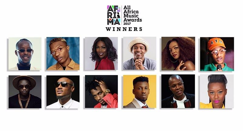 Afrima 2017 Winners - Boomplay