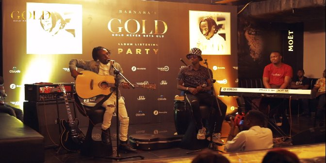 Gold Listening Party, Part 2 - Boomplay