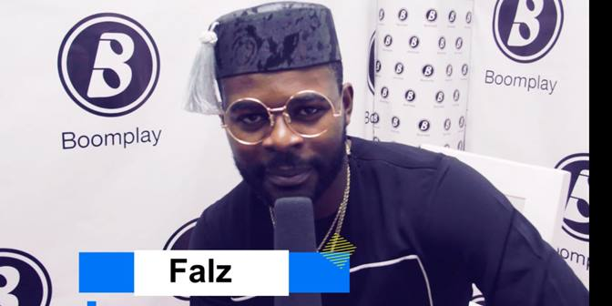 BOOMBUZZ  Exclusive Interview with Falz - Boomplay
