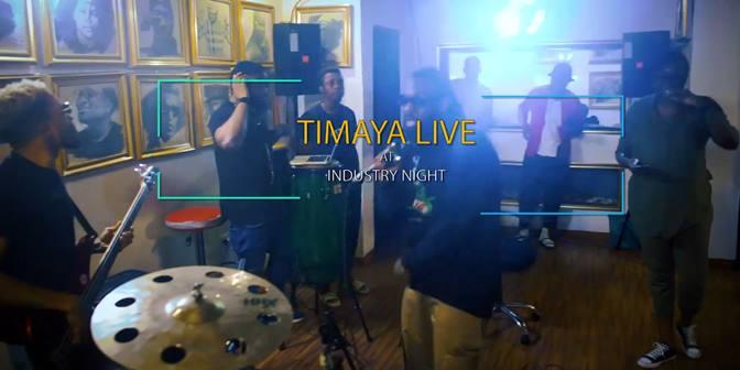 Timaya - Live at Industry Nite - Boomplay