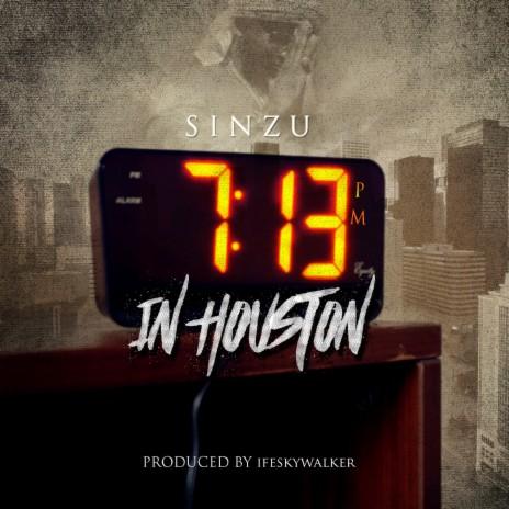 7:13pm in Houston
