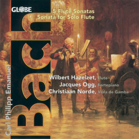 Sonata in A Minor for Flute and Basso Continuo, Wq. 128: II. Allegro ft. Jacques Ogg & Wilbert Hazelzet