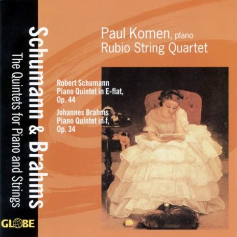Quintet for Piano and Strings in E-Flat Major, Op. 44: II. In modo d'una Marcia. Un poco largamente ft. Rubio String Quartet