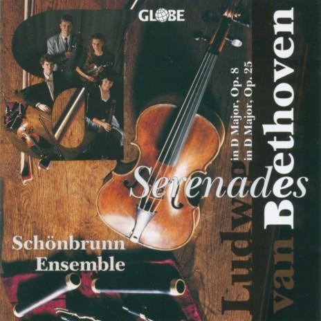 Serenade for Violin, Viola and Violoncello in D Major, Op. 8: IV. Allegretto alla polacca