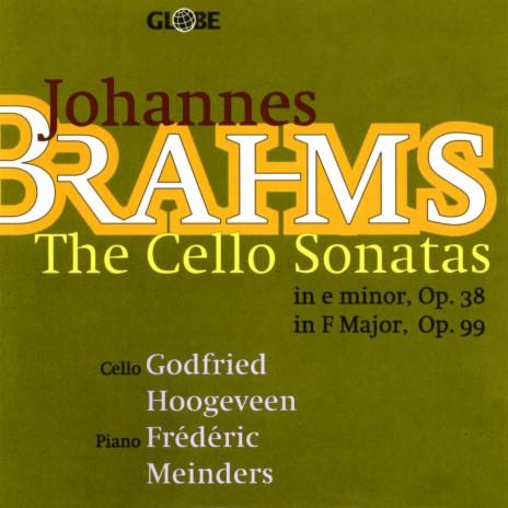 Cello Sonata No. 2 in F Major, Op. 99: I. Allegro ft. Godfried Hoogeveen