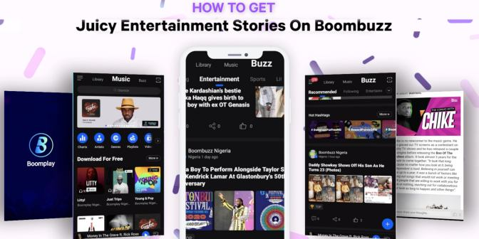 Watch this video to find out how you can get the biggest entertainment stories in the world and much more - Boomplay