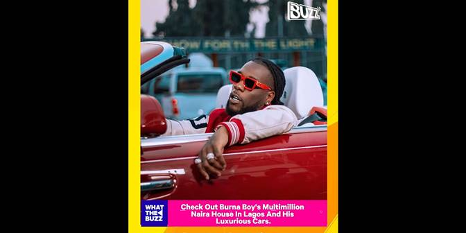 Check Out Burna Boy's Multimillion Naira House In Lagos And His Luxurious Cars - Boomplay