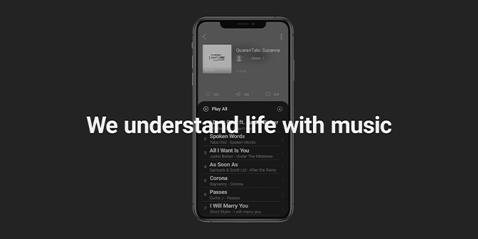 We Understand Life with Music - Boomplay