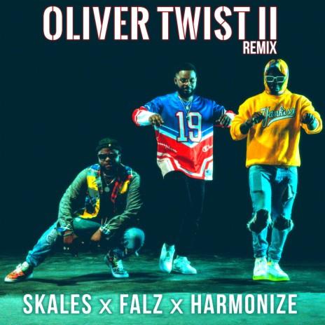 Oliver Twist II (Remix) ft. Falz & Harmonize-Boomplay Music